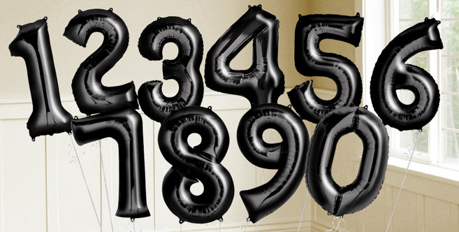 Black Number Balloons  Shiny Black Balloons & Balloon. Atlanta Ga Hotel Rooms. Michigan State Decor. Rooms To Go Leather Sectional. Arch Window Decorating Ideas. Decorative Wooden Chest. French Style Living Room. Table For Living Room. Hotel Banquet Rooms For Rent