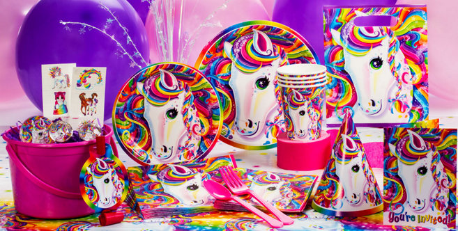 Lisa Frank Rainbow Horse Party Supplies Party City Canada