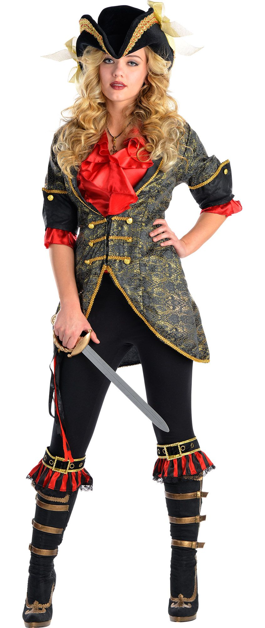 Create Your Own Women's High Seas Pirate Costume