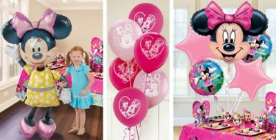 Minnie Mouse Balloons Party City