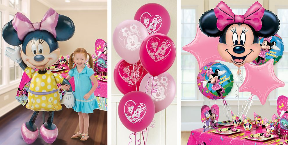 Minnie Mouse Balloons | Party City