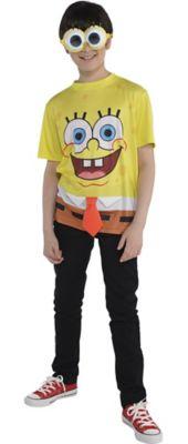 create your own boysu0027 spongebob costume accessories party city