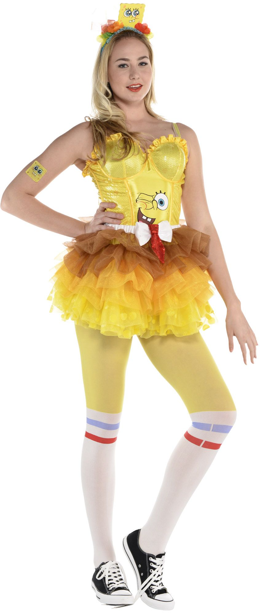 Create Your Own Look - Female Sponge Bob #1