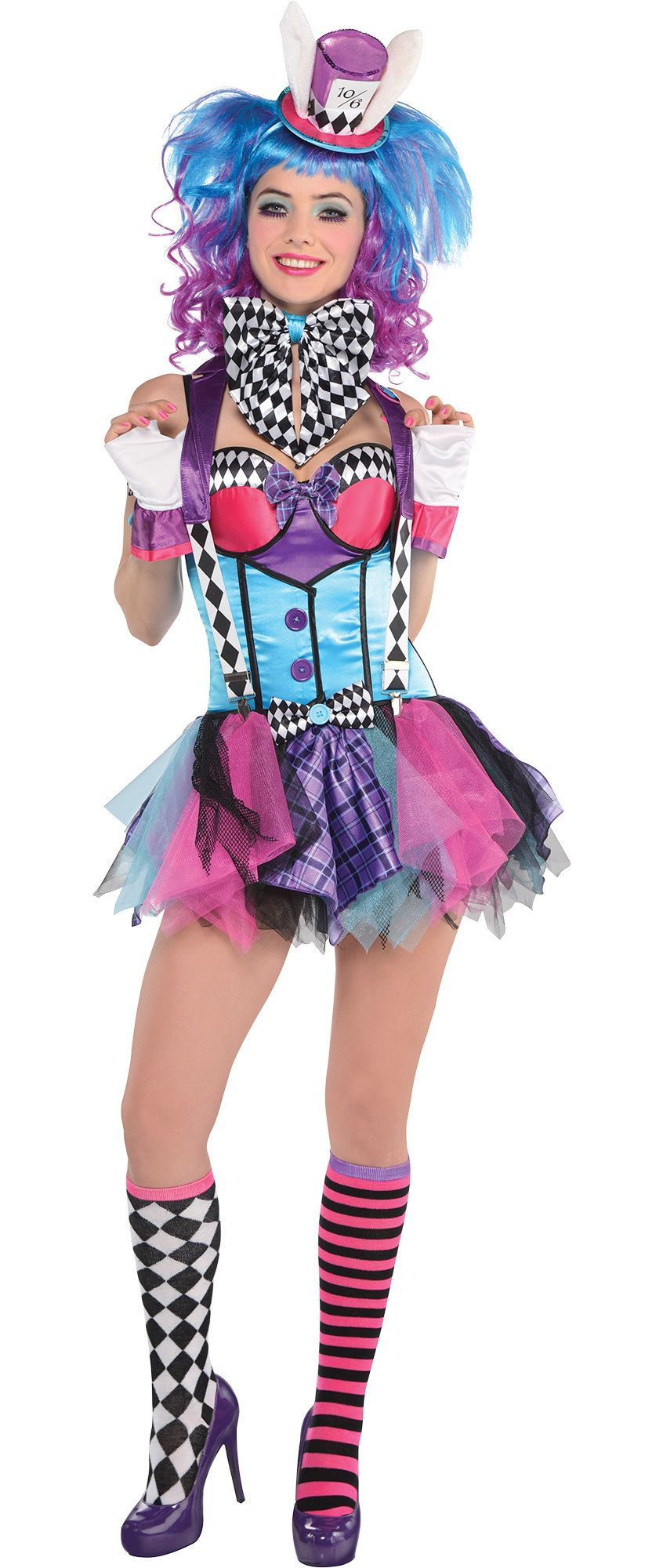 Create Your Own Women\'s Mad Hatter Costume Accessories - Party City