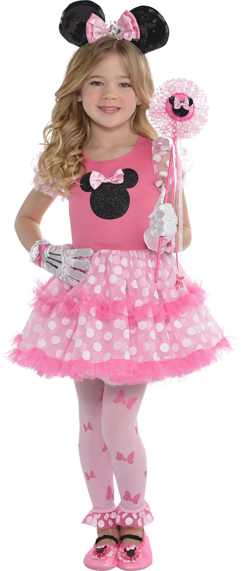 Create Your Own Look - Girl Minnie Mouse Tutu Dress #1