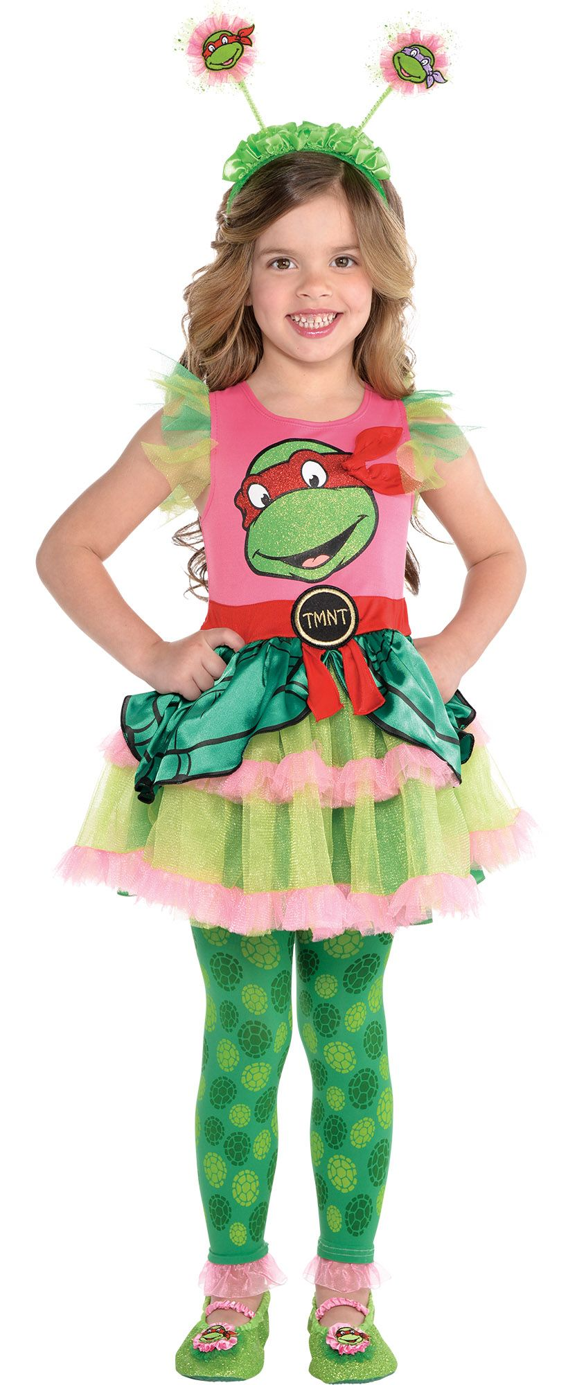 Create Your Own Look - Girl Teenage Mutant Ninja Turtle Dress #2