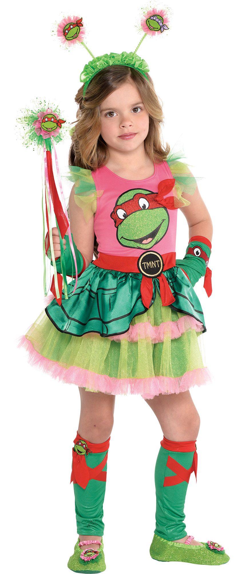Create Your Own Look - Girl Teenage Mutant Ninja Turtle Dress #1