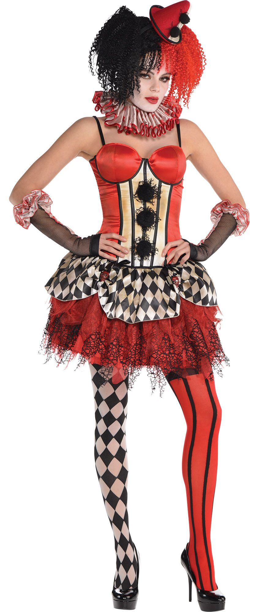 Create Your Look - Female Freak Show Clown