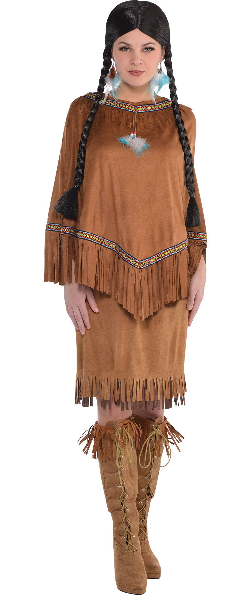 Create Your Look - Female Native American Indian