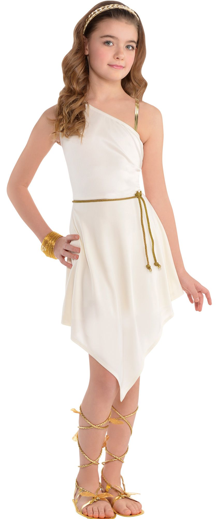 Create Your Look - Girls' Roman Goddess