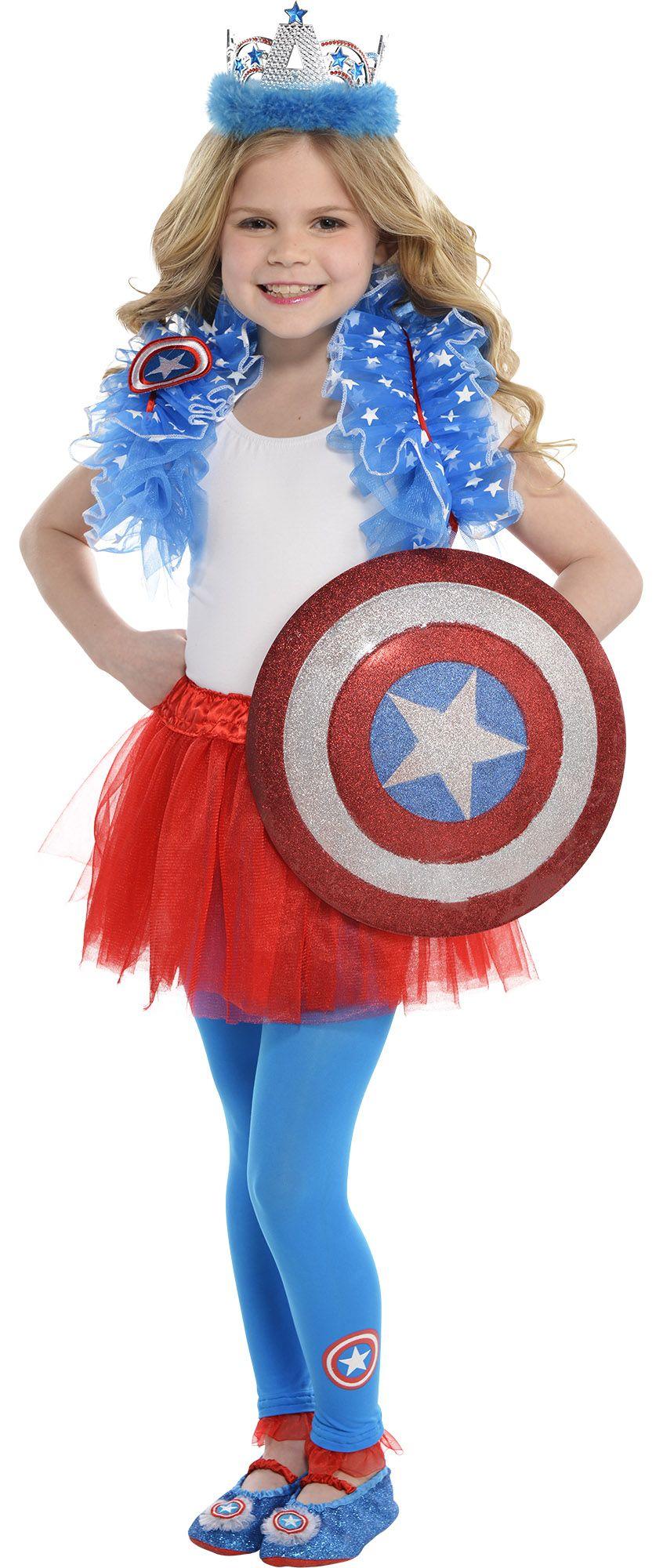 Girl's Captain Ameica