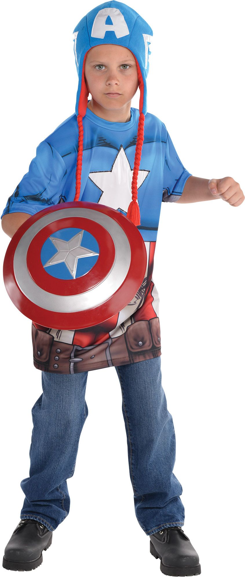 Create Your Look - Boy Captain America