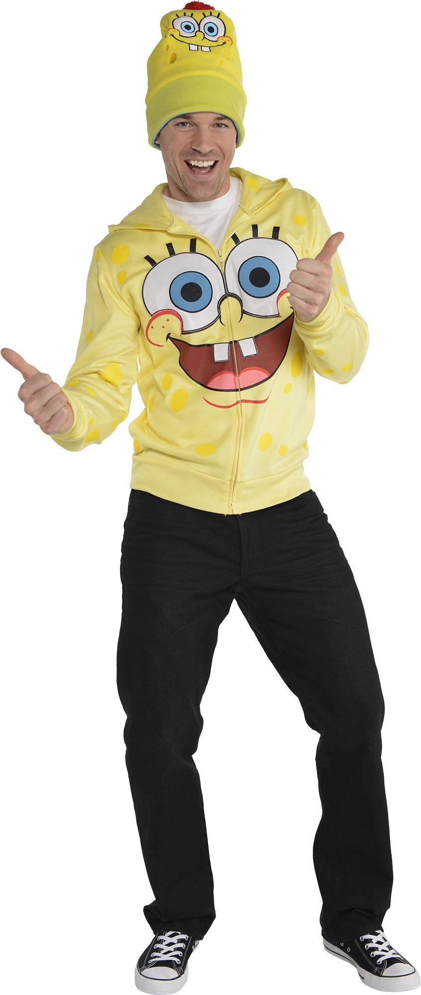 Create Your Look - Male Sponge Bob