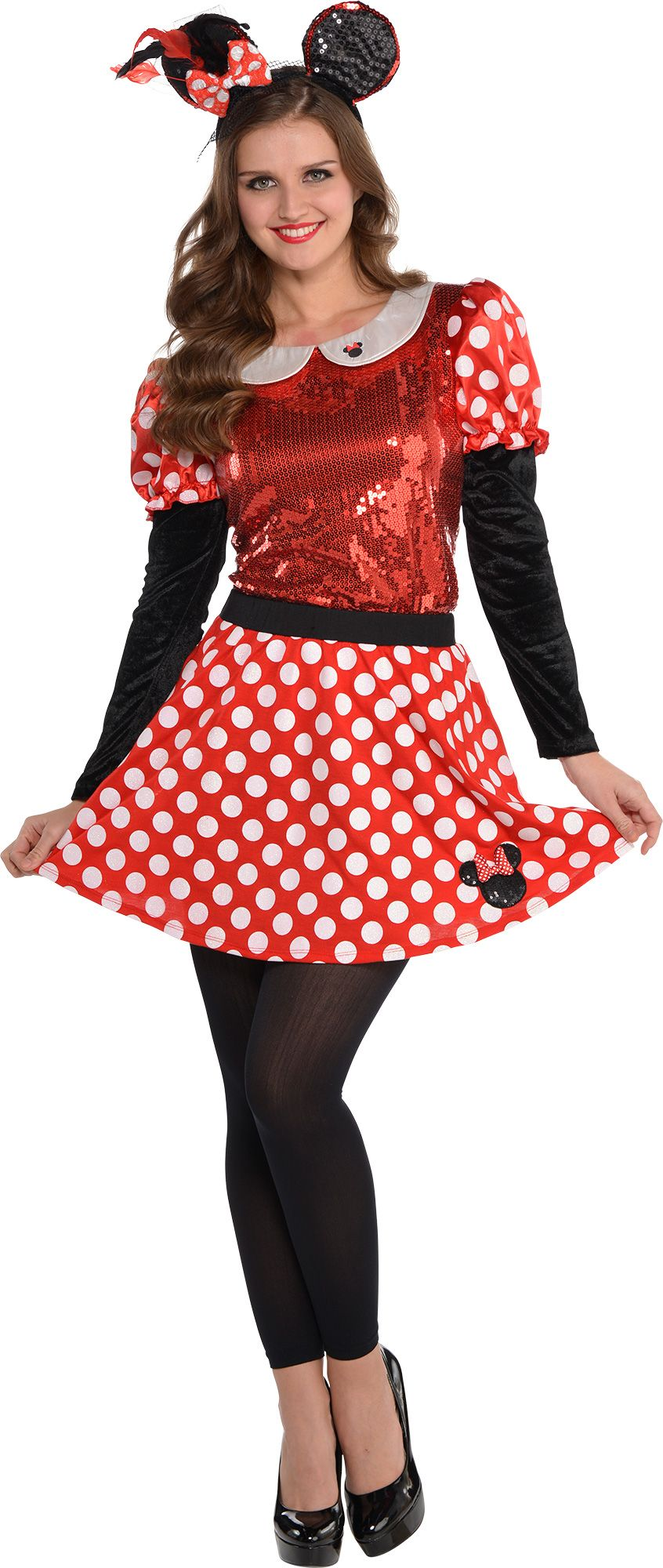 create your own women 39 s minnie mouse costume accessories party city. Black Bedroom Furniture Sets. Home Design Ideas