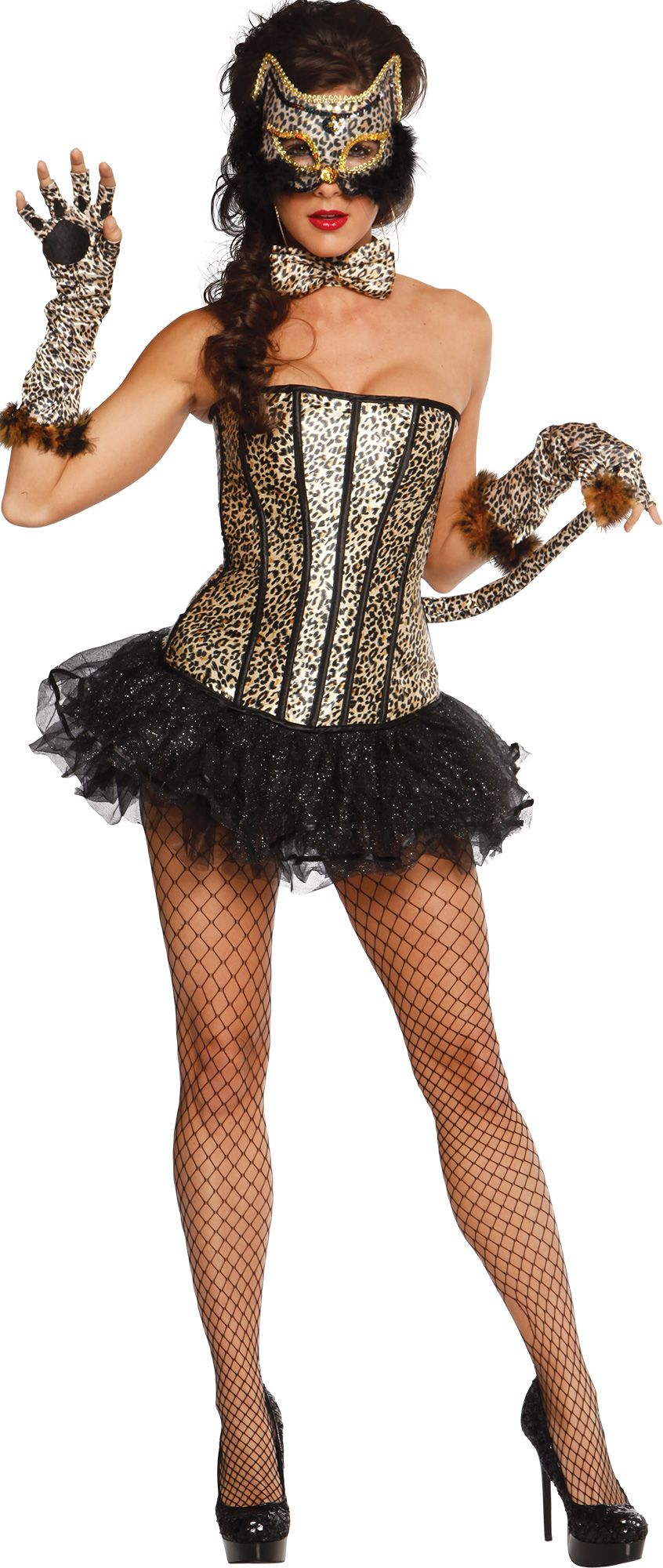 Make Your Costume - Womens Pretty Kitty Costume #2