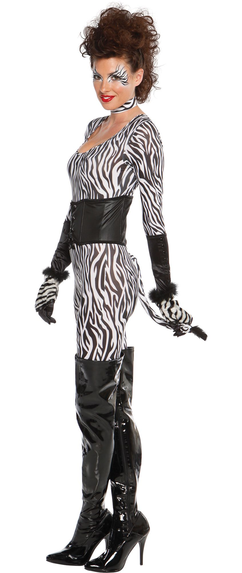 Make Your Costume - Womens Zebra Cutie Costume #1