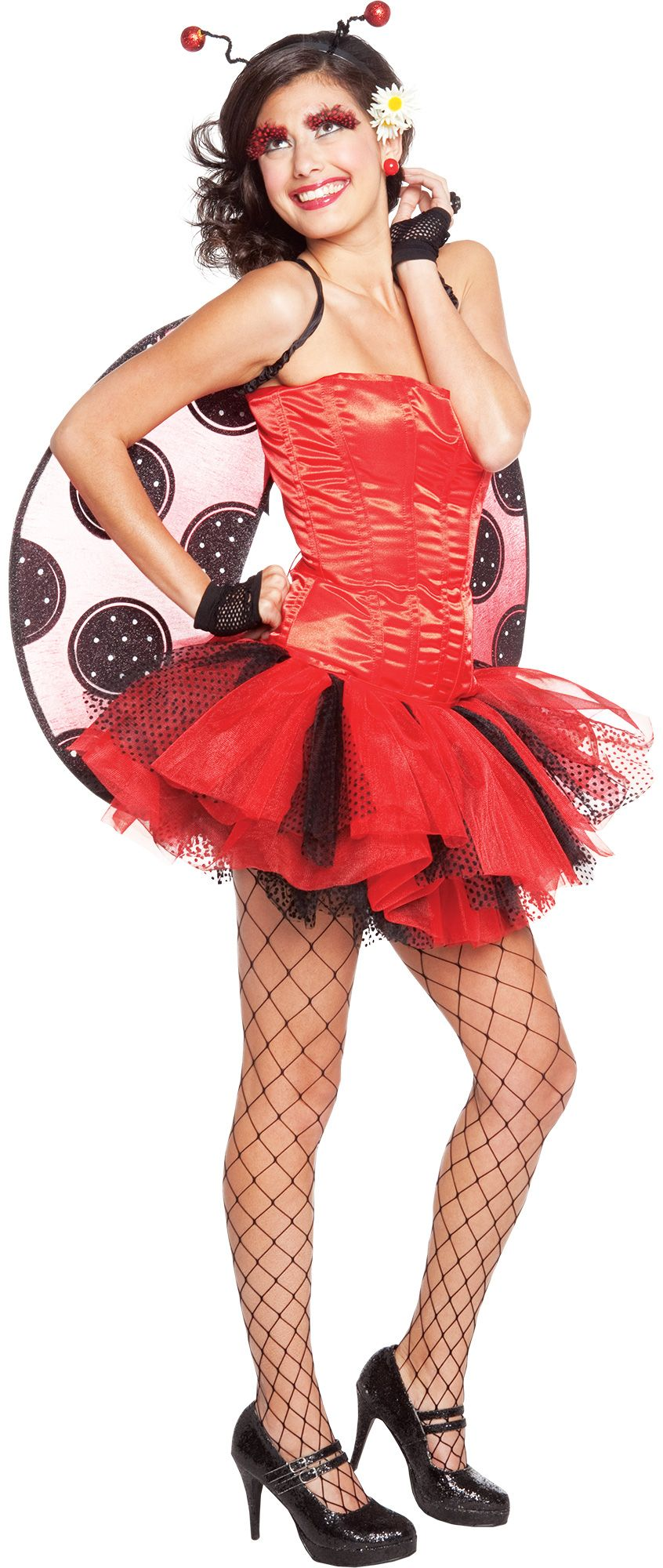 Make Your Costume - Womens Ladybug Costume