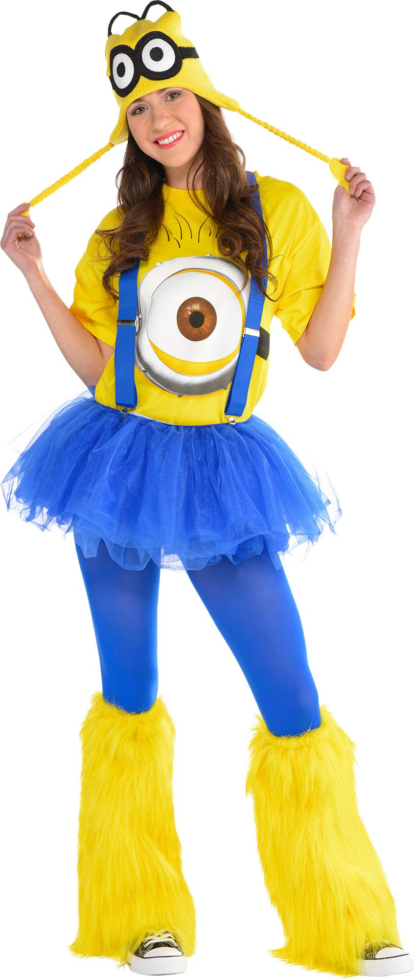 Find the perfect Minion costume for Halloween and the ultimate excuse to cause a little trouble. Get Minion costumes and accessories for the whole family at a great price. hamlergoodchain.ga (We even have the purple mutant Minion!) They feature realistic prints of the characters and are guaranteed to pass Gru's closest inspection.