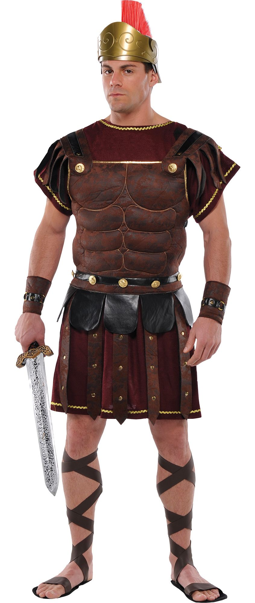 Make Your Costume - Mens Roman Soldier #1