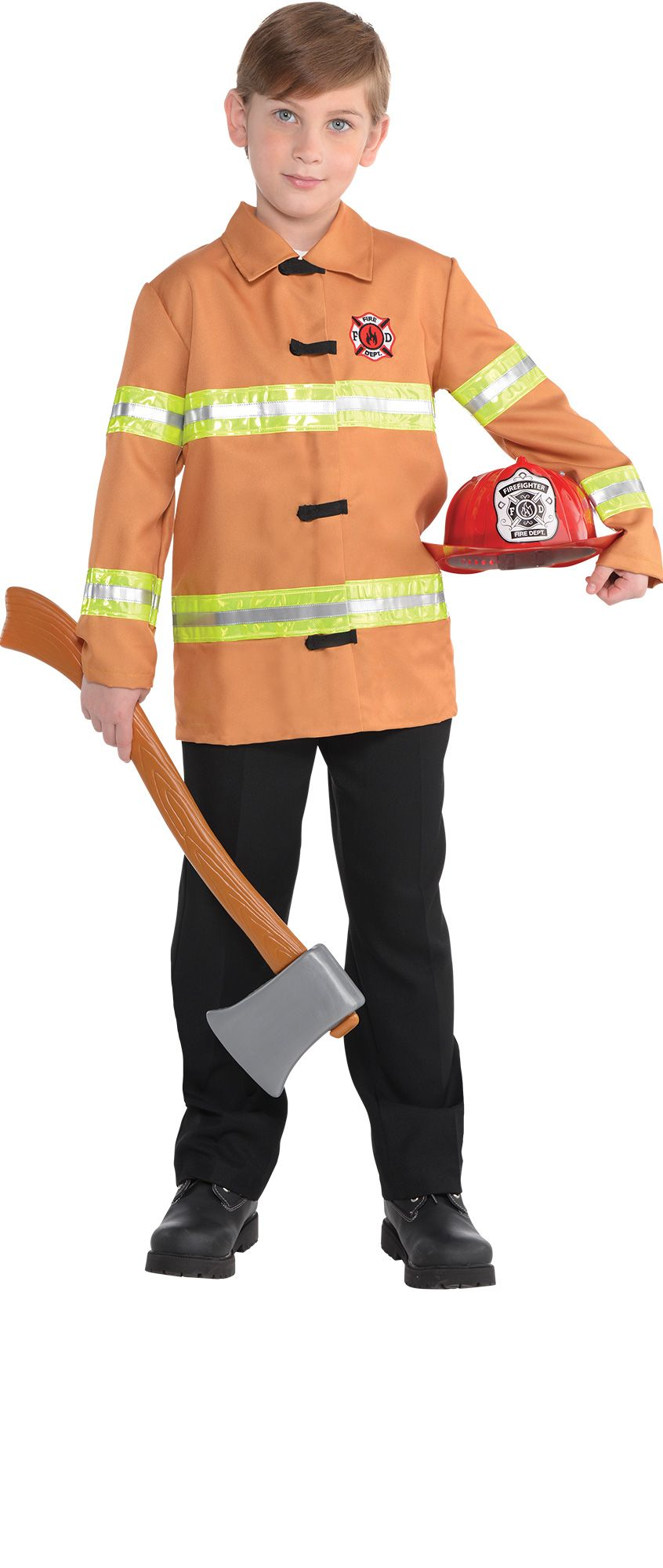 Make Your Costume - Boys Fire Fighter