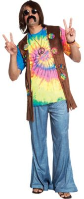 Menu0027s Hippie Costume Accessories - Party City  sc 1 st  Olivero & Hippie Outfit Ideas For Men | Olivero