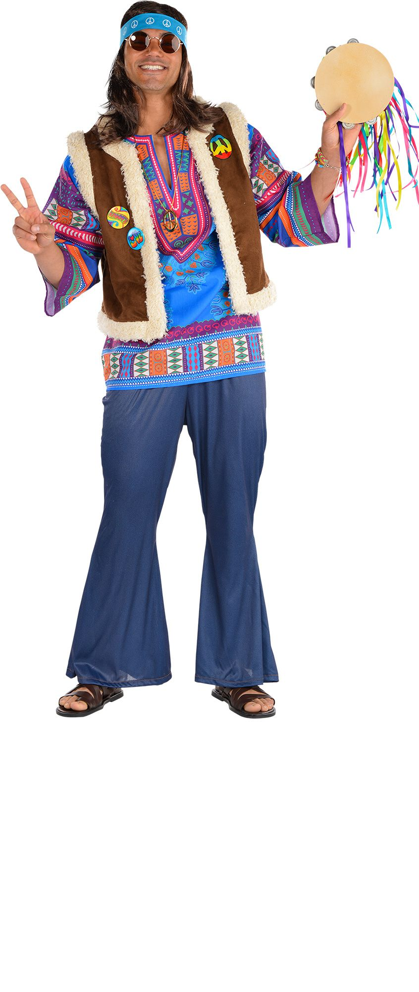 Make Your Costume - 60s Mens Hippie #1