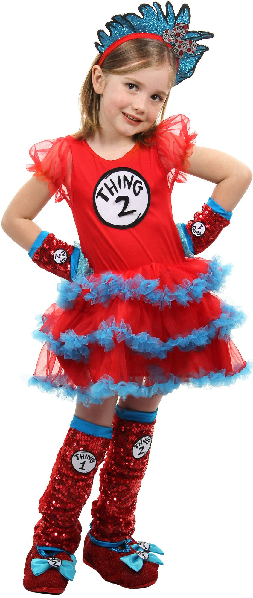 girl thing 1 and thing 2 create your look - Thing 1 Thing 2 Halloween Costume