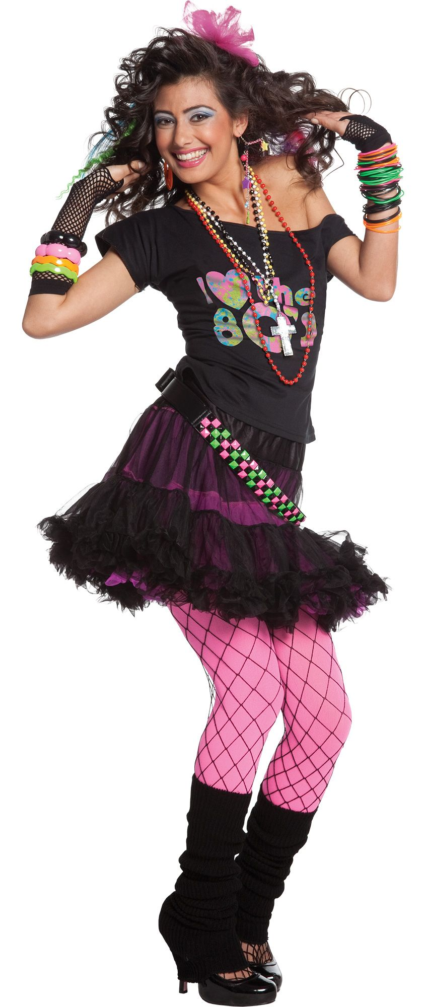 Women's 80s Valley Girl Costume Accessories - Party City