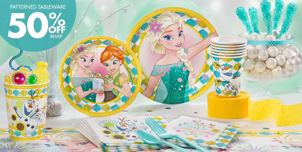 Frozen Fever Party Supplies