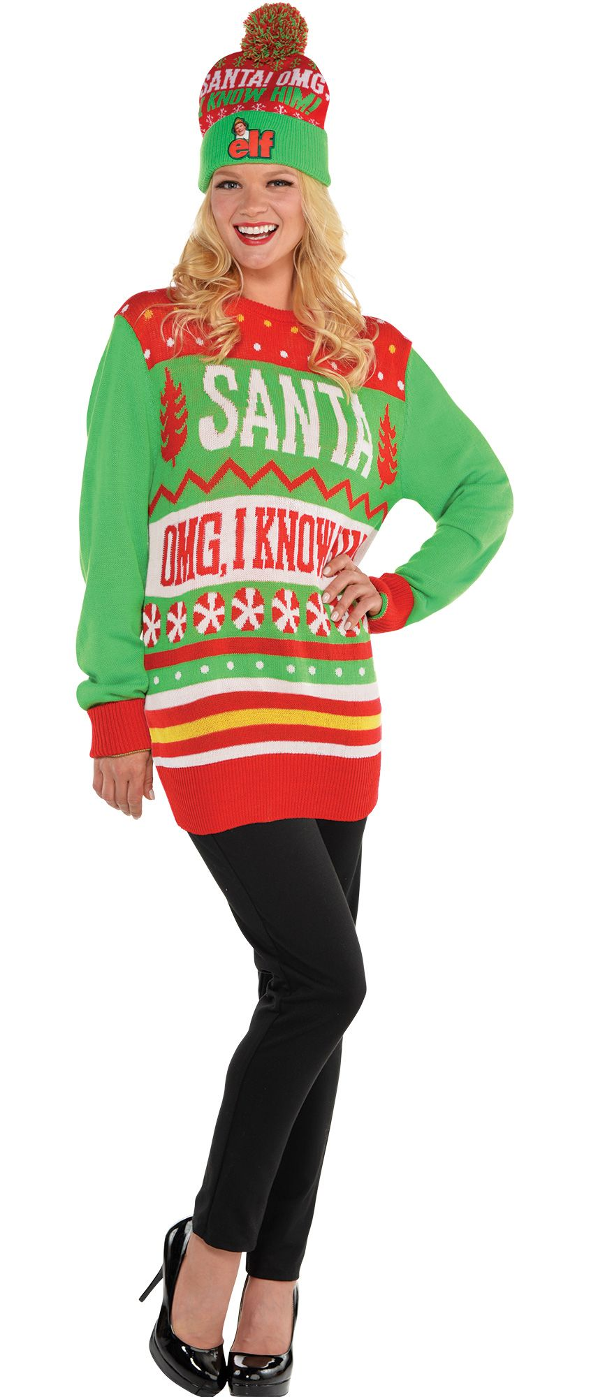 Womens' Ugly Sweater #1