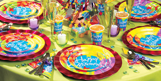Retirement Party Supplies - Retirement Party Ideas & Decorations