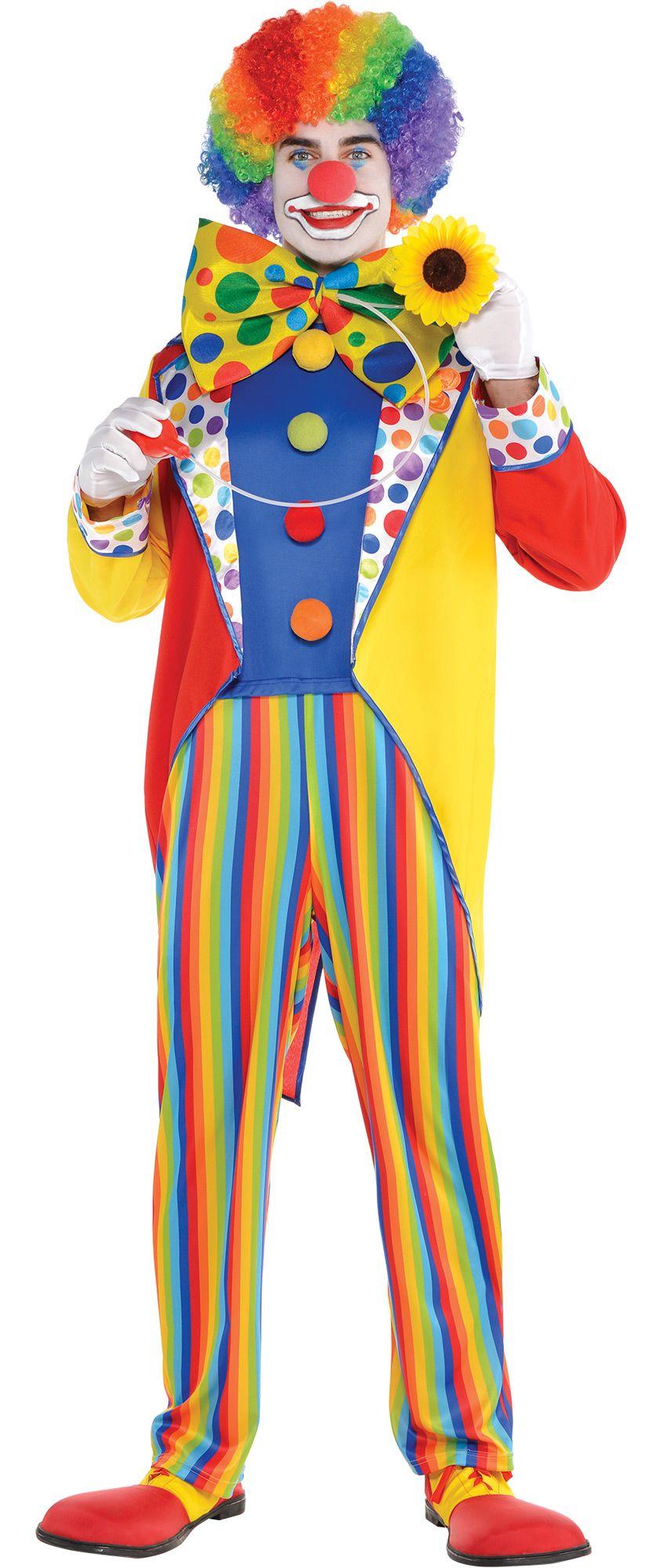 Create Your Own Look - Men's Clown