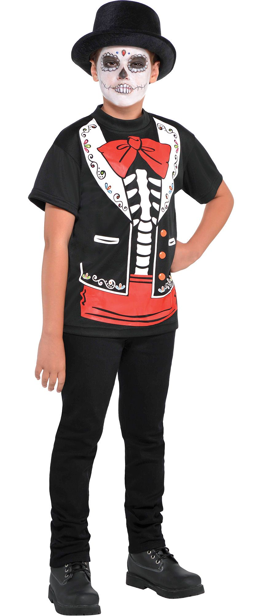 Create Your Look - Boys' Day of the Dead