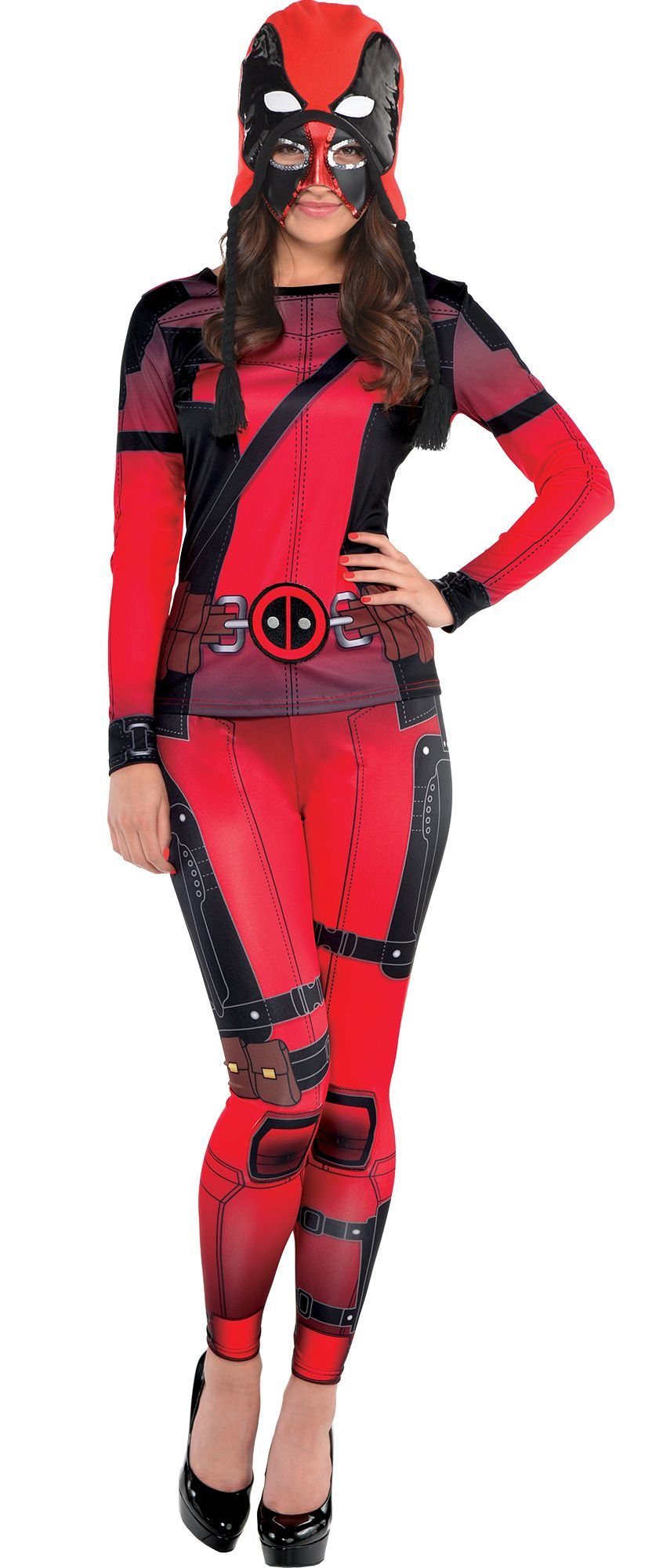 Create Your Own Look - Women's Deadpool