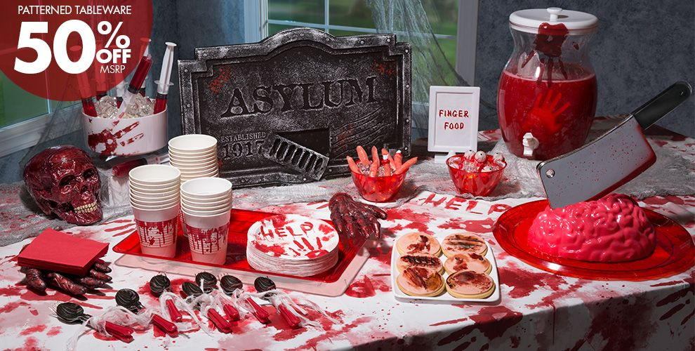 Bloody Hands Halloween Party Supplies Party City