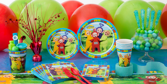 Teletubbies Party Supplies - Teletubbies Birthday Party ...