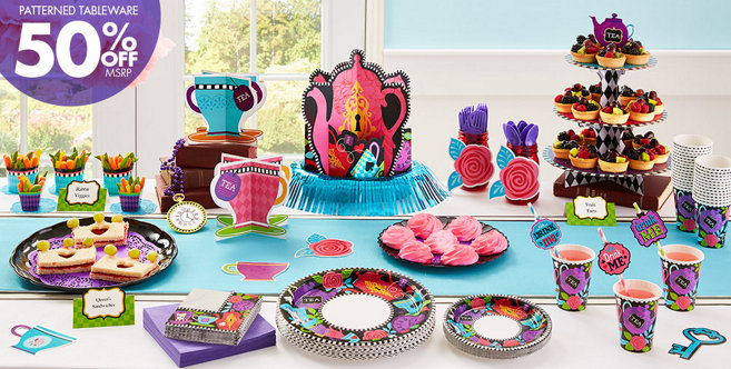 Mad Tea Party Supplies Party City Canada
