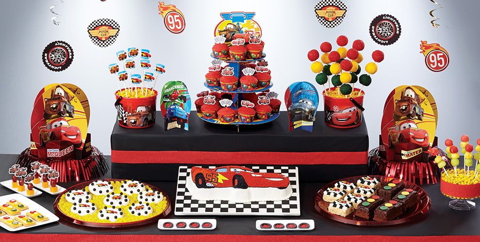 Cars Cake Supplies Cars Cupcake Amp Cookie Ideas Party City