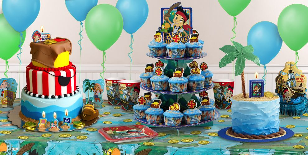 Jake and the Neverland Pirates Cake Supplies - Jake and the ...