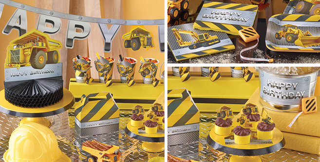 Construction Party Supplies Construction Birthday Party