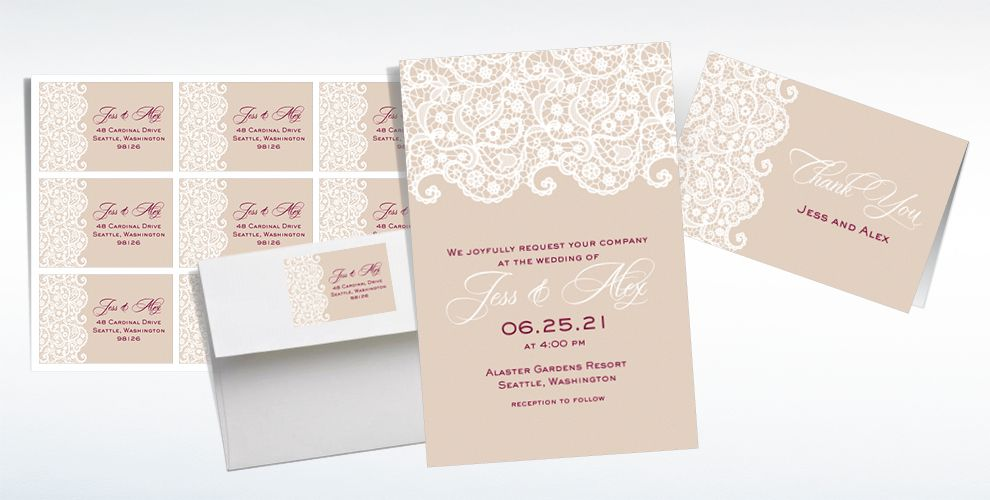 party city wedding invitations - Wedding Decor Ideas