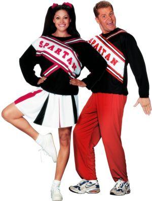 SNL Spartan Cheerleaders Couples Costumes