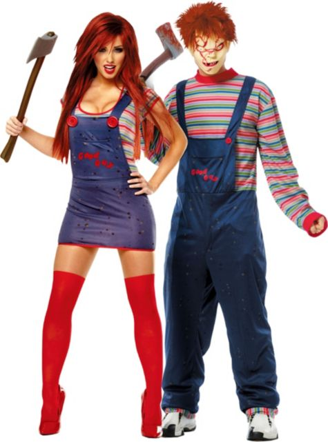 Chucky Costumes For Girls Chucky Couples Costumes