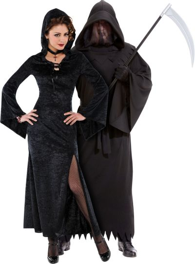 Enchantress and Phantom of Darkness Couples Costumes