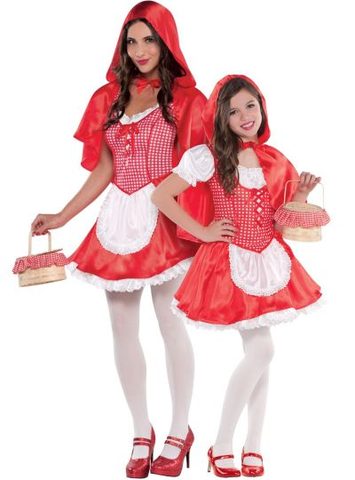 Red Riding Hood Mommy and Me Costumes