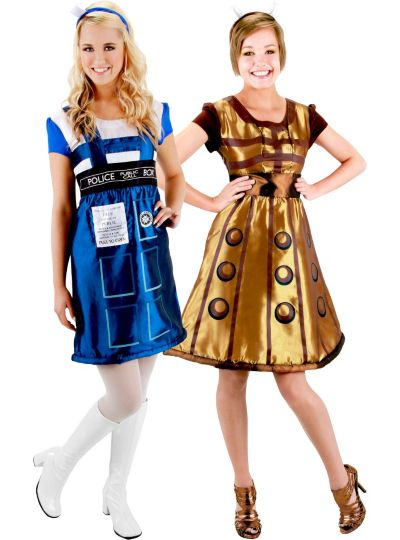 Doctor Who Couples Costumes