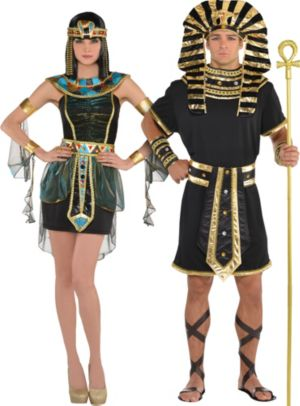 Adult Egyptians Couples Costumes