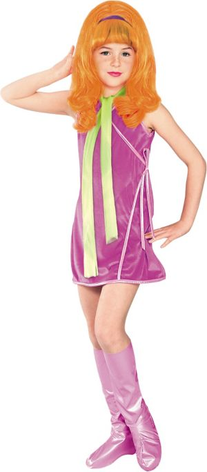 Girls Daphne Costume - Scooby-Doo