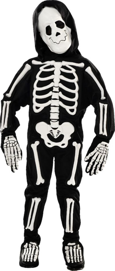 Toddler Boys Skeleton Costume