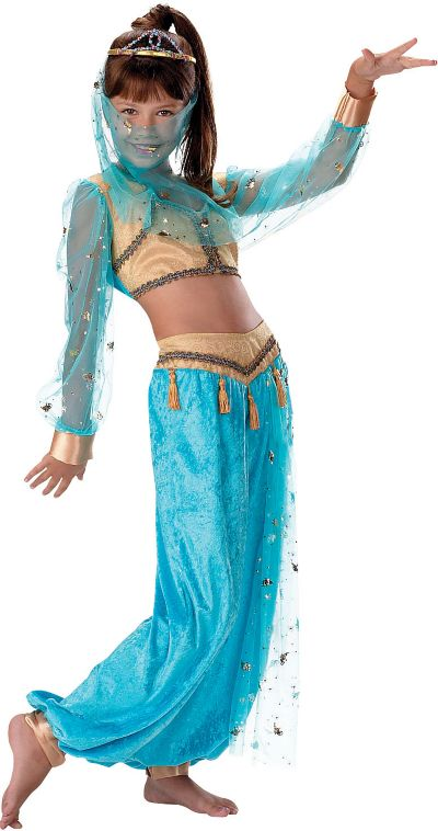 Girls Mystical Genie Costume Deluxe